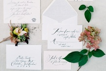 Lettering / Invitations to your most special day. / by Nakesha Morgan