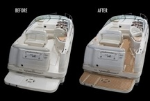 Pimp my boat / Before and after decking with Flexiteek