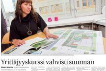 Lehdet - Press / Me lehdissä.