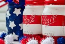 Red White and Blue / Patriotic recipes, crafts and more!