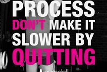 Workout Motivation / A few things to motivate the exercise journey......