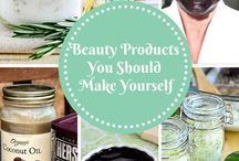 Homemade Beauty / I love a good Do It Yourself beauty product. Let's see what's out there!