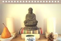 meditation room / tips on creating a peaceful room for meditation