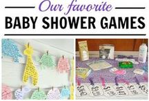 Baby shower / Everything you need if you are organising a baby shower.  Inspiration for games, food, decoration and gifts.