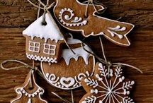 Gingerbread! / Ideas for gingerbread houses, biscuits and decoration .