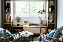Fabulous Interiors / Inspirational room sets; different design genres, room layout ideas, colour combinations and furniture.