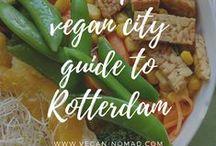 vegan city guides » / For a complete vegan travel overview go to www.vegan-nomad.com/vegan-travel