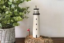Lighthouses❤️ / Lighthouses: pictures showing variations in design and models/ornaments/artwork.