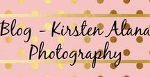 Living Life & Being a Photographer Blog - Kirsten Alana Photography / These are blog posts that I have wrote.