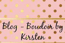 Blog - Boudoir by Kirsten / Blogs related to boudoir photography.  https://boudoirbykirsten.weebly.com/boudoir-by-kirsten-blog