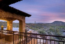 Scottsdale Arizona Sunsets / Scottsdale is known for its fantastic sunsets which are often purple, pink, red and orange.