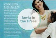 Kevia In Press / Kevia jewelry designs as seen worn by celebrities and featured in the press through Fashion & Lifestyle magazines. #Lucky Mag #In Style Magazine # Oprah Magazine # Vogue #Harper's Bazaar  To view and purchase any of these styles, visit www.keviastyles.com.