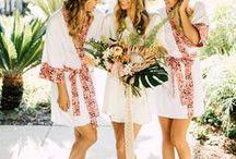 Bridesmaid Robes / Robes make the perfect bridesmaid gifts