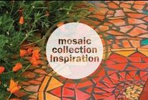 Mosaic Collection Inspiration / Jewelry from the 'Mosaic' collection, created by drawing on inspiration from patterns, glass, rocks, and geometric shapes.   To view more of Kevia's collections, visit www.keviastyles.com.
