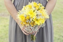 Yellow + Gray Wedding