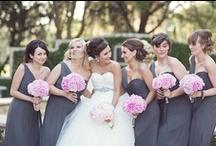 Pink + Gray Wedding