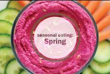 Spring Recipes / Kevia's picks for seasonal meals that are easy, fresh, and clean. When you can, eat organic, eat local, and eat healthy! #organic, #eat local,  #healthy meals