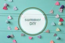 Summer DIY / Explore some of our favorite DIY craft ideas and start some projects of your own! We appreciate fun and easy projects that kids can participate in as well as crafts that can be done outdoors.