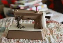 Vintage Children Sewing Machines / Toys