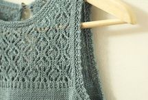 Knitting patterns: one colour/yarn / Mostly cardis and pullovers