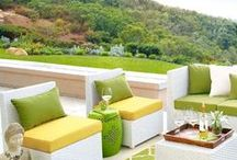 Contemporary Patio Spaces / Hip, cool, contemporary patio ideas. Perfect for Scottsdale AZ outdoor living.