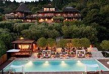 Honeymoon in California / Luxurious honeymoon accommodations in California