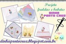 Projetos Ponto cruz by Dinha / kits de gráficos completos http://dinhapontocruz.blogspot.com.br/