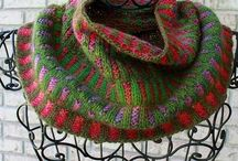Inspira cowls / So beautiful colour combinations!