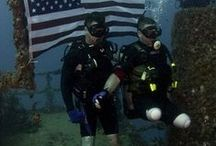 VETERANS Scuba Diving / A page dedicated to the healing that can result from veterans going scuba diving and how we can get involved!