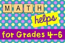 Math Helps for Grades 4-6 / Please pin 3 Freebies for every paid pin.  Freebies should be something that could help Grades 4-6 teachers.  Please pin no more than 2 paid pins daily.  Thank you for making this an awesome board filled with outstanding math ideas!  If you want to pin to this board, email me at jordynpollard@tds.net.