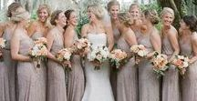 Bridesmaid Dresses / Bridesmaid dress inspirations for the women standing by you on your special day.