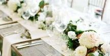 Table Styling / Beautiful table setting ideas and centerpieces