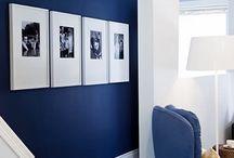 White, blue, gold, velvet (velour)