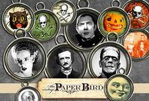 HALLOWEEN!! / by The Vintage Paper Bird