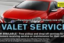 Porsche, Volkswagen, and Volvo's Special Offers in Hickory / by Paramount Auto of Hickory
