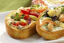 Appetizers / Perfect party appetizers the easy way. / by Marzetti Kitchens