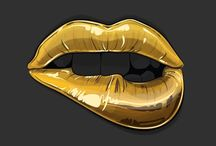 Lips / Lips covered in the latest designs. Get lipstick ideas and learn about sexy lips here. #lips / by Matthew Mortensen