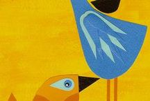 bird simple prints i like