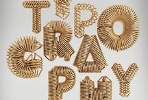 Typography / Typography is the art of arranging type to make written language readable and appealing. The arrangement of type involves selecting typefaces, point size, line length, line-spacing, and adjusting the space within letters pairs.  / by Matthew Mortensen