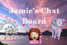 Jamie's Chat Board /  This board was created by Jamie Breanna (@jayjaymia) for  my followers (aka squad goals) || pin anything your heart desires || hate is deleted || invite anyone and everyone || comment to be added ✨ {ig:@jamie.breanna}