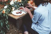 ♥Junggesellenabschied / Boho Picnic / JGA mal anders: Das Boho-Picknick im Wald als Party-Idee für den Junggesellinnenabschied mit Stil // Ideas and Decoration for your Bachelorette Party of a different kind