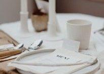 Tischlein deck dich! / Wenn es was zu feiern gibt: Tischdeko, Platzkärtchen, Menükarten und mehr für Partys, Geburtstage oder festliche Anlässe.