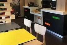 Réalisation - Agencement Restaurants / Agencement restaurant bois design
