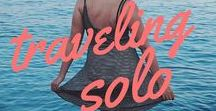 Solo Travel. / A collection of all the best travel guides, tips and travel advice to help all solo travelers and those wanting to explore the world.