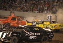Demolition Derby / The annual closing to the Eastern Idaho State Fair, the derby is a lot of fun with crash cars and mud.