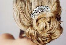Très Chic | Hair Jewels / by Coronet Diamonds