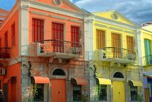 Spot on... Colorful houses! / Colorful houses... all over the world!
