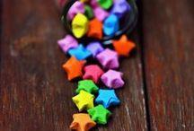 Origami Stars  / Paper stars, paper stars everywhere!