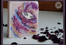 Soap: Colors & Swirls / Soapmaking as an art.