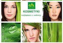 Kosmetyki GAL / Portfolio kosmetyków GAL, wytwarzanych na bazie naturalnych składników.